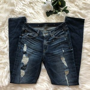 Miss Me Ankle Straight Jeans Size 28